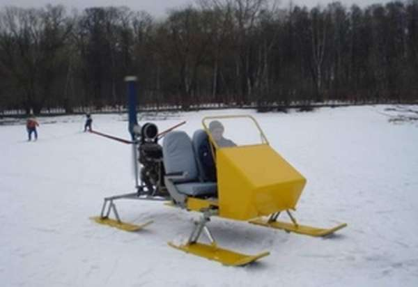 Лыжи для аэросаней