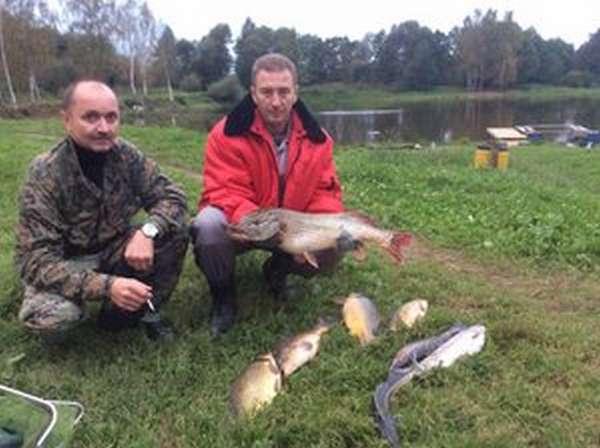 Рыбалка Мосфишер в Чехове