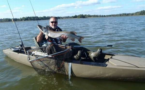 рыбалка с каяка