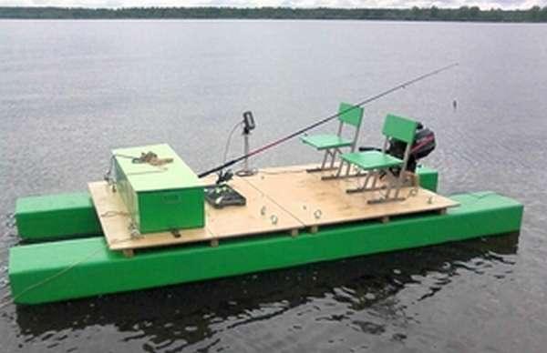 Катамаран для рыбалки