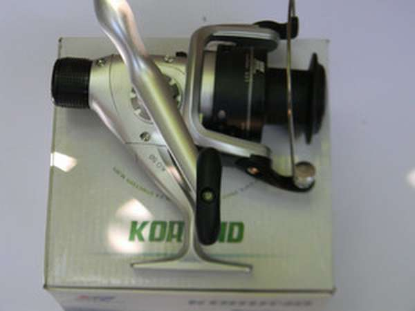Передний и задний фрикционные тормоза безынерционных катушек