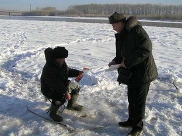 Как ставить сети под лед