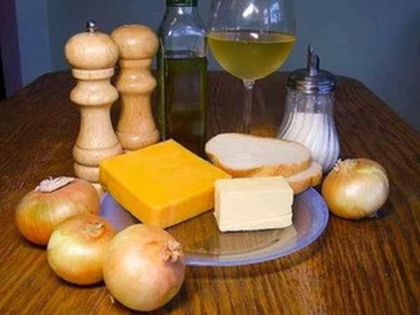 Ингредиенты для салаки, запечённой с копчёным сыром