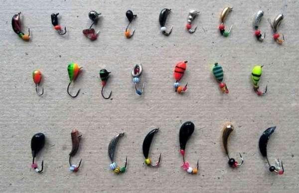 Разнообразие безнасадочных мормышек