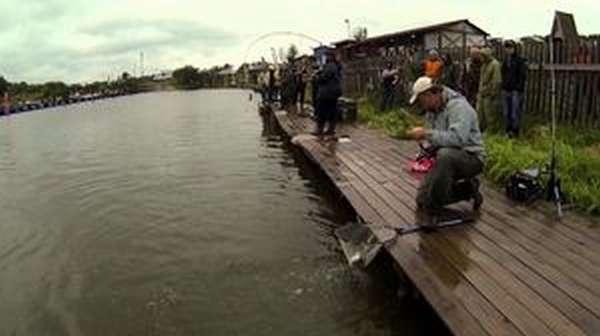 Шикарная рыбалка в Савельево