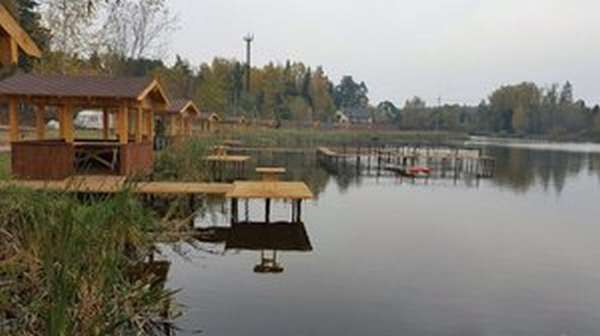 Рыбацкая деревня в Юрлово