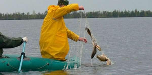 Рыбалка сетями