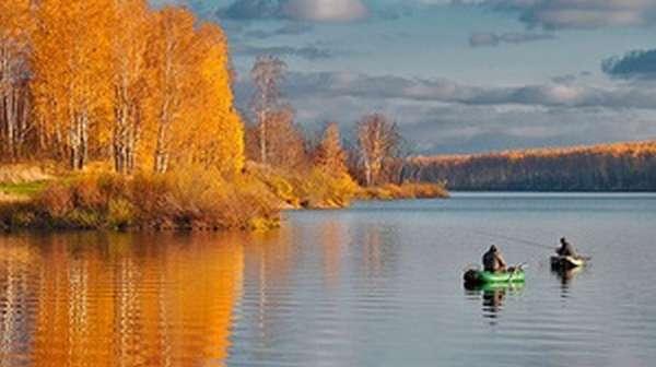 Рыбалка в ноябре в Башкирии