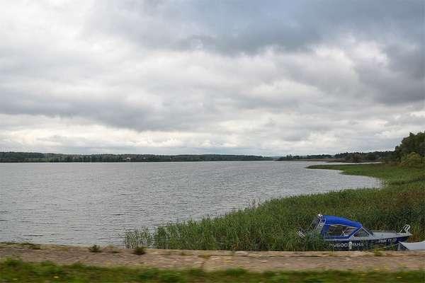 Поездка на Озернинское водохранилище