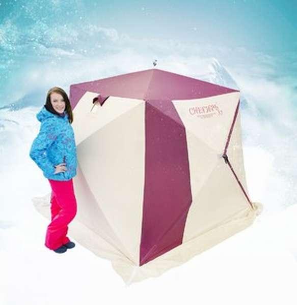 Палатка снегирь для зимней рыбалки