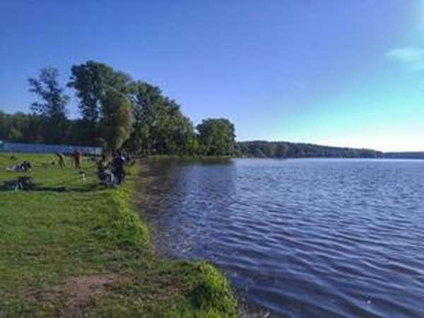 Рыбалка на Гжелке