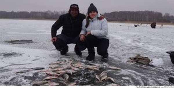 Вылов рыбы в реках