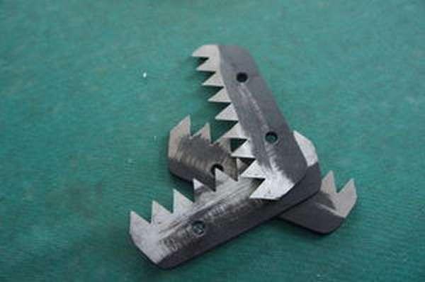 Ножи для ледобура установка