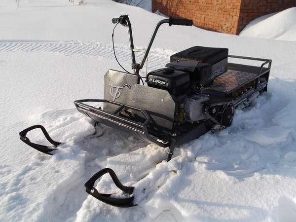 Преимущества мини-снегоходов отечественного и зарубежного производства