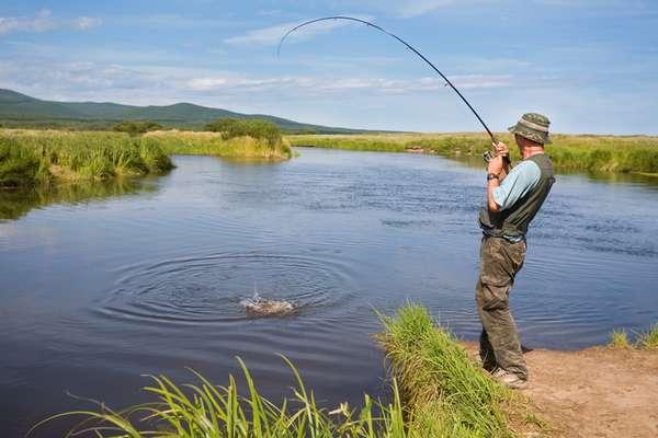 Сезон зимней рыбалки в Самарской области