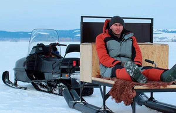 Как сделать санки для зимней рыбалки - виды, материалы