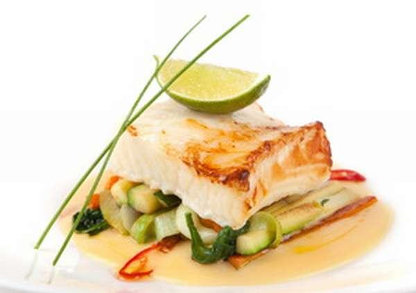 Блюда из рыбы сибас