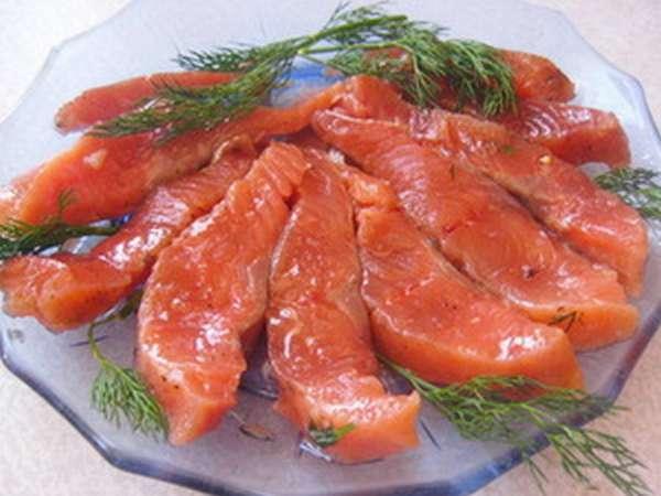 Продукты для соления рыбы