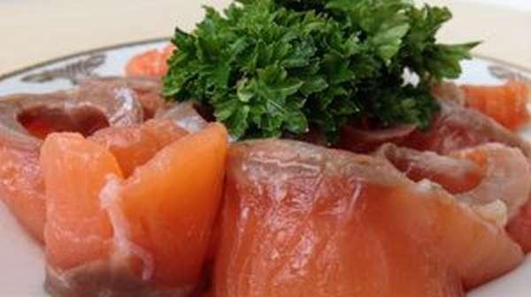 Рецепт соления горбуши
