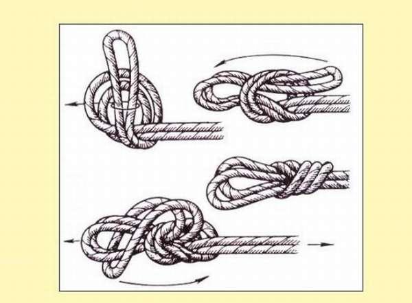 Схема вязания «проводника»