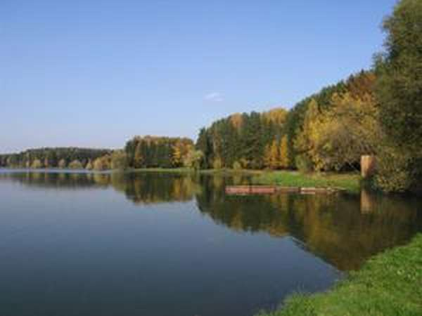 В средней части водохранилища находится обширный Пятницкий плес, где в Истру прежде впадали реки Нудоль и Чернушка