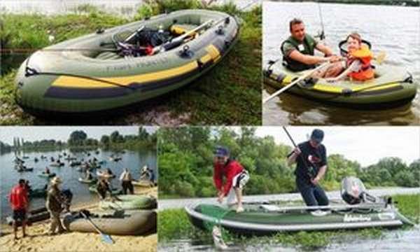 Надувные рыбацкие лодки