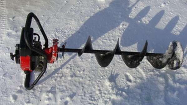 Ледобур электрический для зимней рыбалки