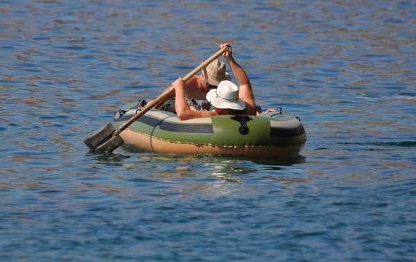 Как выбрать надувную гребную лодку