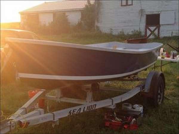 Самодельная лодка из пленки