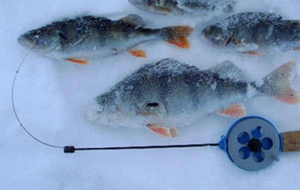 Рыбная ловля на чёртик зимой