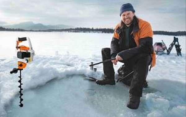 Ледобур бензиновый для зимней рыбалки