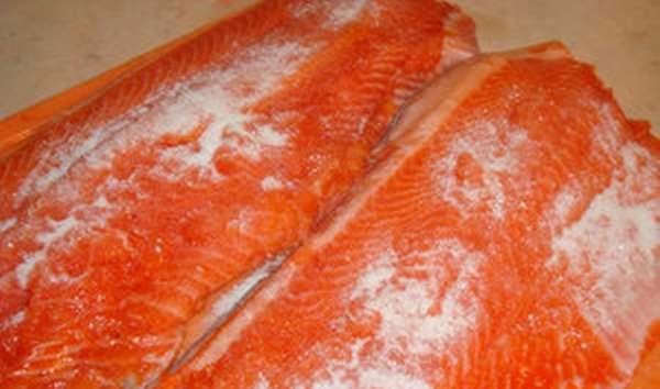 Способ засолки рыбы в домашних условиях