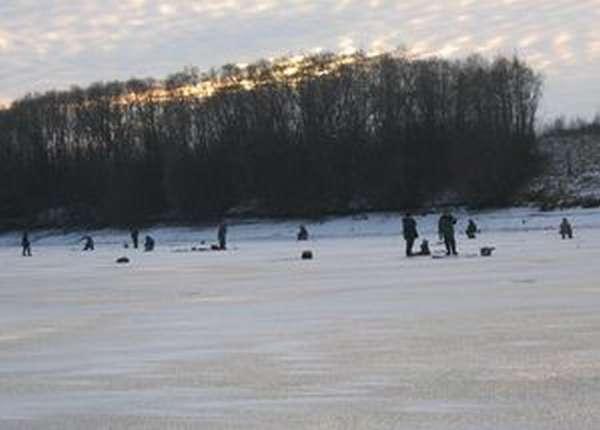 Вазузовское водохранилище. зимняя рыбалка