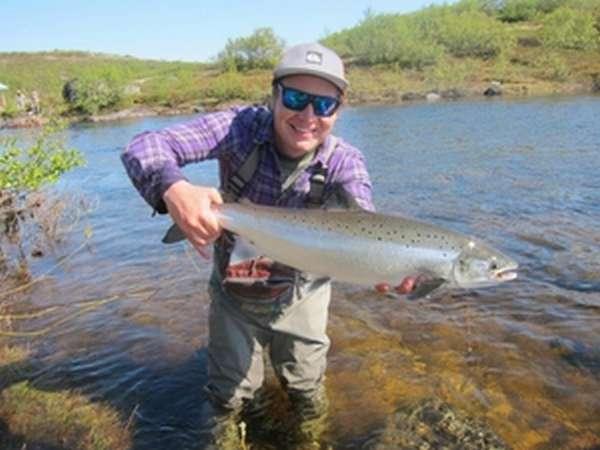 Рыбалка на кольском полуостров