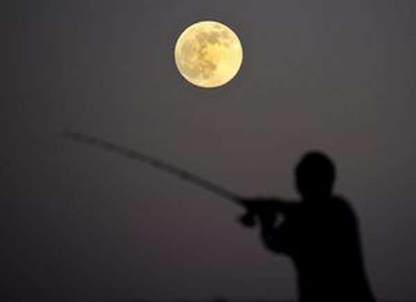 Пользуемся лунным календарем рыболова