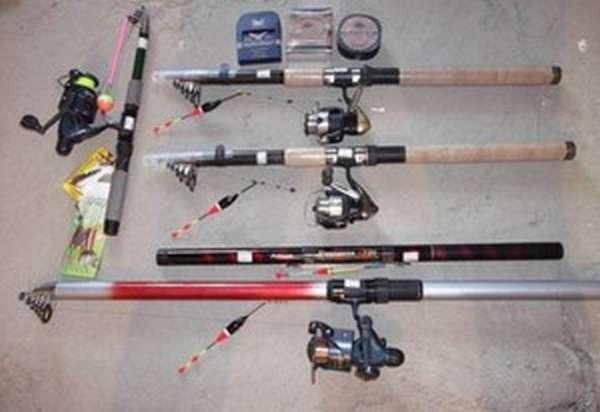 какие удочки лучше для летней рыбалки