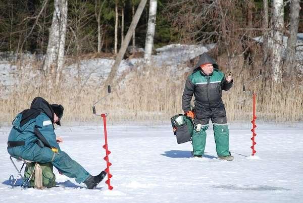 Рыбаки-зимники