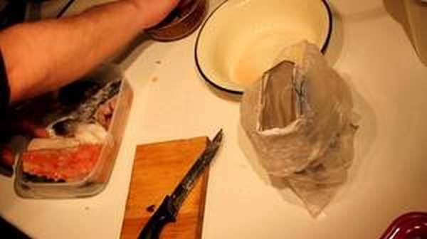 Соленый кижуч в домашних условиях