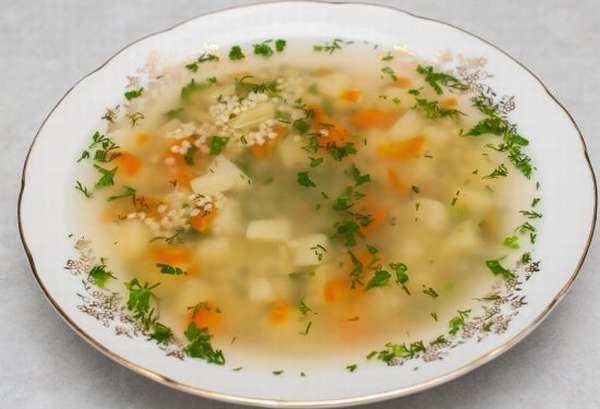 Легкий суп из головы лосося