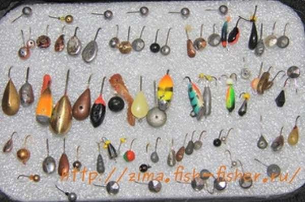 Рыбацкий набор мормышек для различных условий ловли