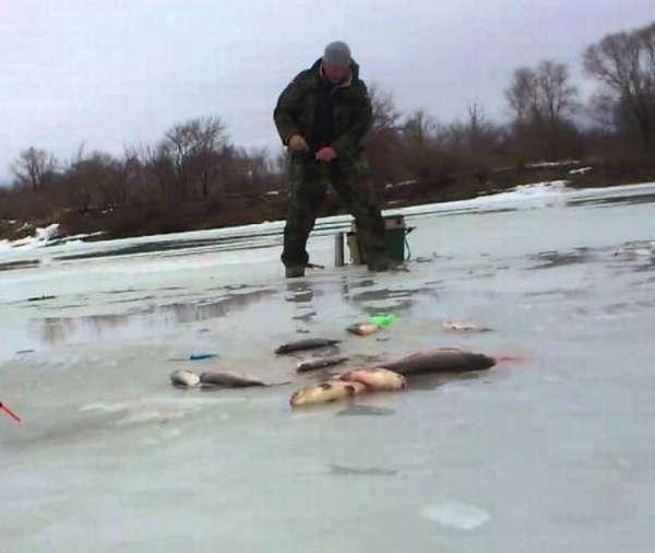 ловля на льду
