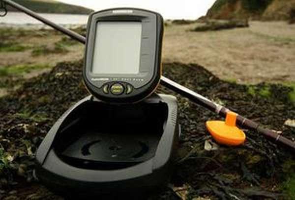 Беспроводной эхолот - использование на берегу