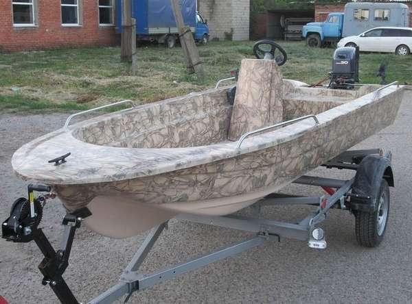Пластиковые лодки для рыбалки