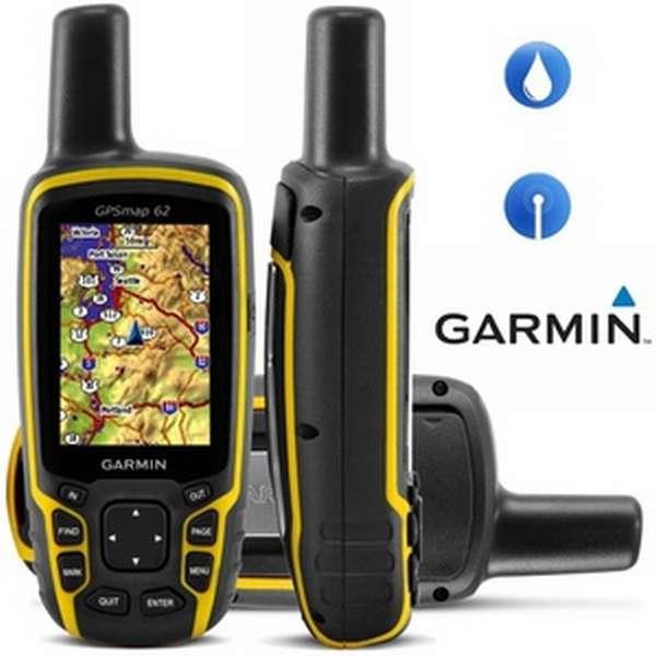 Навигатор Garmin GPSMAP 62