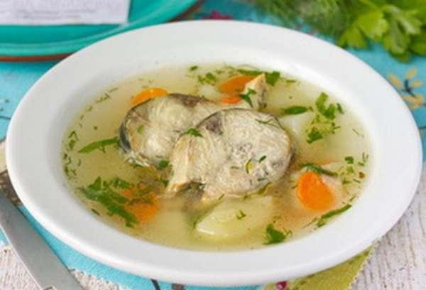 Как сварить суп из скумбрии свежемороженой