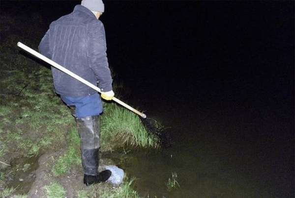 Ночная ловля раков