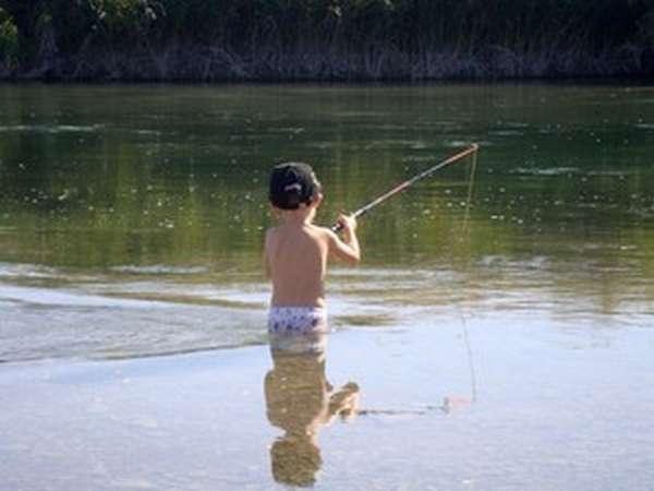 Место для рыбалки и отдыха