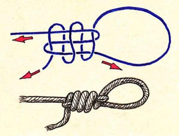Как сделать морской узел