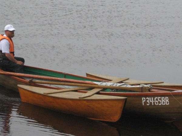 Самодельные алюминиевые лодки.