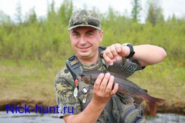 Ловля рыбы на реке